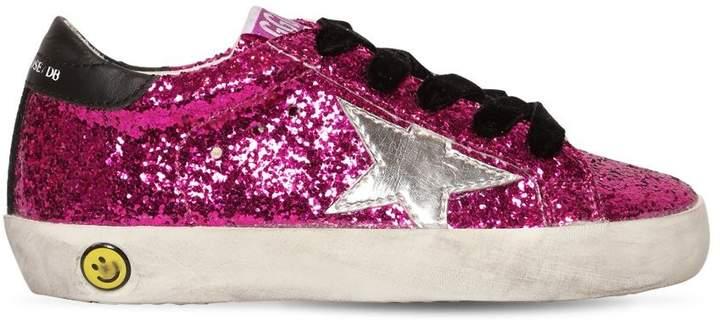Super Star Glittered Sneakers