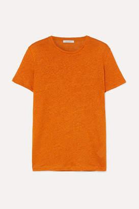 Ninety Percent Linen T-shirt - Orange