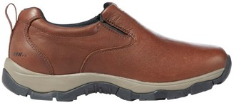 L.L. Bean L.L.Bean Men's Insulated Waterproof Comfort Mocs with Arctic Grip, Leather