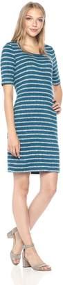Kensie Women's Mixed Rib Dress
