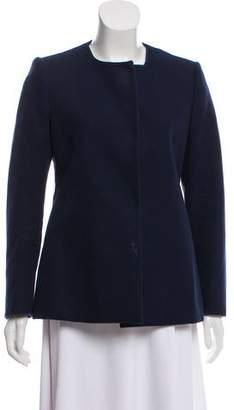 Stella McCartney Twill Collarless Jacket