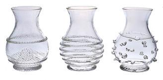 Juliska Asst. of 3 Mini Vases - Clear