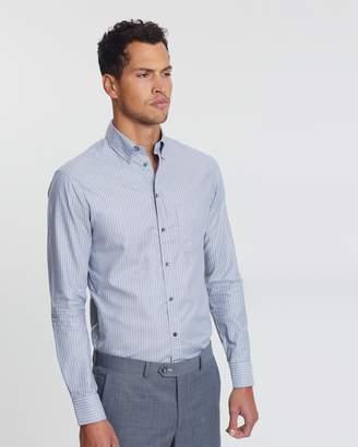 Emporio Armani LS Pocket Stripe Shirt