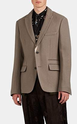 Haider Ackermann Men's Wool Two-Button Sportcoat - Beige, Tan