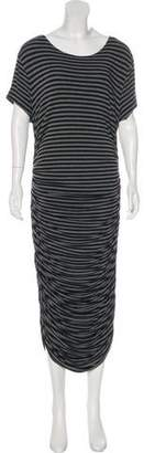 Norma Kamali Stripe Maxi Dress