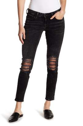 True Religion Halle Ankle Skinny Jeans (Raven Fever)
