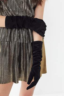 Urban Outfitters Velvet Party Glove