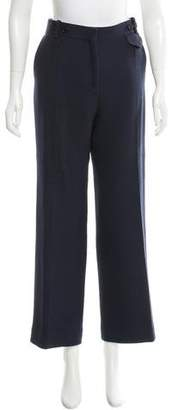 Celine Wool Wide-Leg Pants