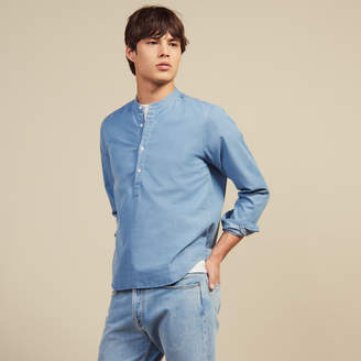 fd08fe30255 Sandro Faded chambray shirt