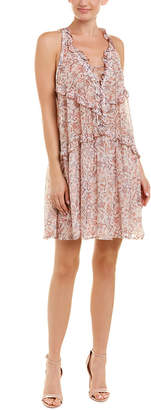 IRO Baden Ruffled Shift Dress