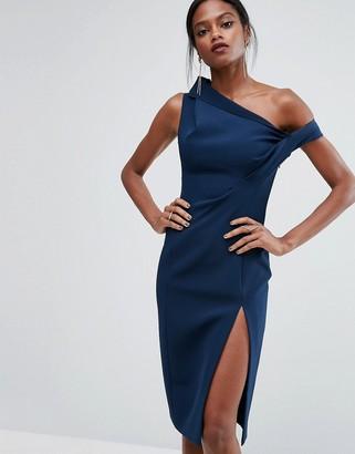 AQ AQ AQ/AQ Structured Off Shoulder Dress $198 thestylecure.com
