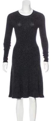 Rebecca Taylor Knit Knee-Length Dress