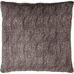 Aviva Stanoff Faux Fur Pillow - Dark Gray