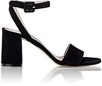Barneys New York Women's Crisscross Ankle-Strap Sandals - Black