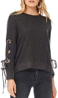 Anama Grommet Sleeve Sweater