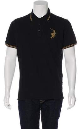Just Cavalli Embroidered Polo Shirt w/ Tags