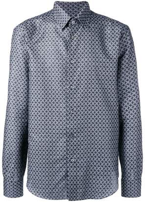 Brioni floral pattern shirt