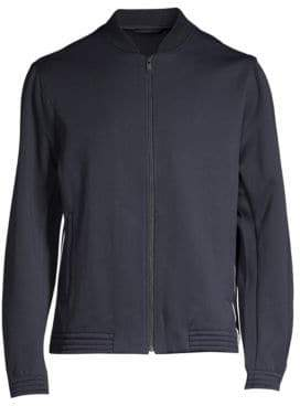 Theory Regular-Fit Arctic Wool-Blend Fleece Funnel Jacket