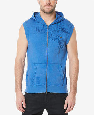 Buffalo David Bitton Men's Sleeveless Hoodie