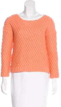 Diane von Furstenberg Cora Wool-Blend Sweater Orange Cora Wool-Blend Sweater