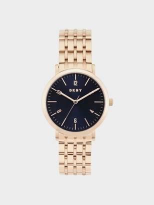 DKNY Minetta 36mm Rose Gold-Tone Bracelet Watch Rose Gold N/S
