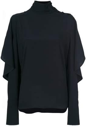 Marni frill-detail sweater