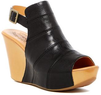 Kork-Ease Bergen Wedge Sandal $180 thestylecure.com
