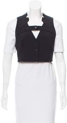 Alexander Wang Tailored Cropped Vest w/ Tags