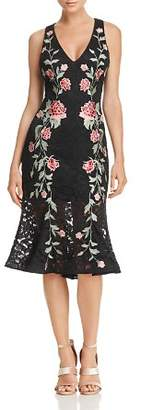 Aqua Embroidered Lace Dress - 100% Exclusive