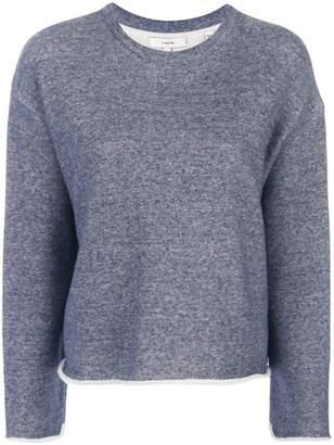 Vince dropped shoulder sweatshirt