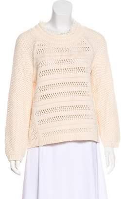 Rebecca Taylor Ottoman Stitch Pullover Sweater w/ Tags