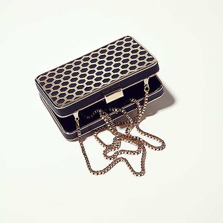 Topshop Cage Frame Clutch Bag