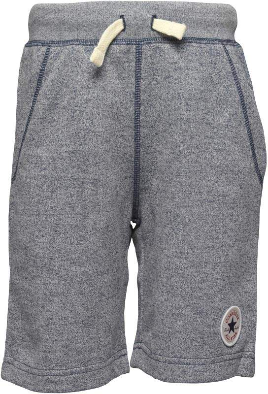 Boys Core French Terry CTP Shorts Navy/White Marl
