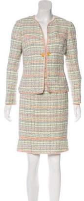 Chanel Tweed Skirt Suit
