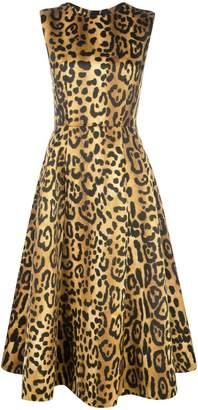 ADAM by Adam Lippes leopard print dress