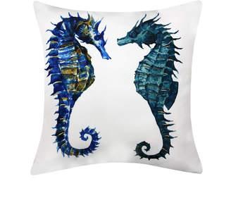 Ediehome Edie@Home Pair Of Seahorses Printed Outdoor Pillow