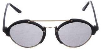 Illesteva Milan 2 Round Sunglasses