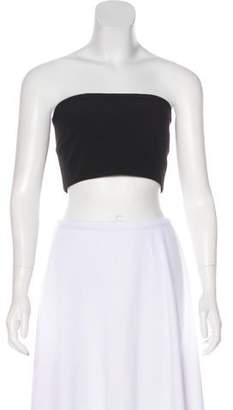 Ronny Kobo Strapless Cropped Bandeau