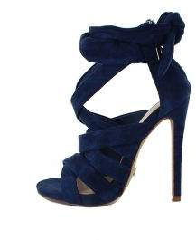 Wanted Pascoe Navy Suede