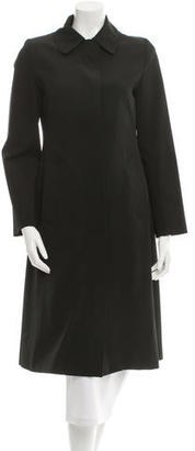 Burberry Long Wool Coat $375 thestylecure.com