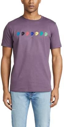 Paul Smith Short Sleeve Skull T-Shirt