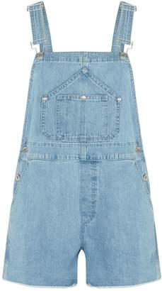 Rag & Bone Denim Short Dungarees
