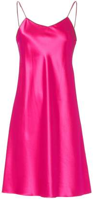 Helmut Lang Zip Strap Pink Slip Dress