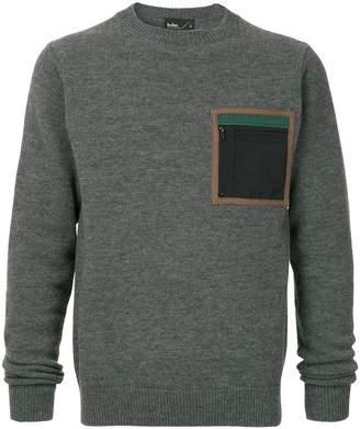Kolor patch pocket sweater