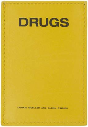 Raf Simons Yellow Drugs Card Holder