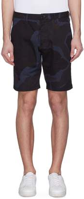 Paul Smith Camouflage print twill shorts