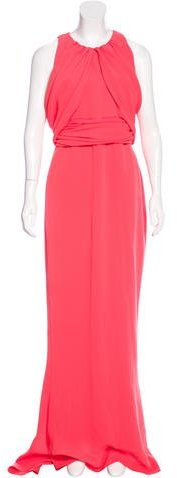 Max Mara MaxMara Draped Evening Dress w/ Tags