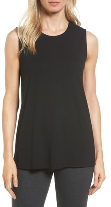 Women's Eileen Fisher Long Jersey Tank $88 thestylecure.com