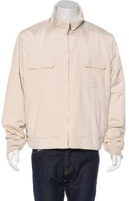 Loro Piana Woven Zip Jacket