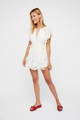Sahara Romper by Free People $148 thestylecure.com